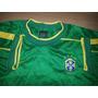 Camisa Do Brasil Goleiro Taffarel Copa 1998-nike Original-42