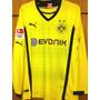 Camisa Do Borussia Dortmund Lewandowski Mangas Longas