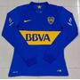 Boca Juniors Mangas Longas - Tevez, Lodeiro, Monzon, Pavón