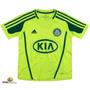 Camiseta Palmeiras Infantil Verde Limão 2013