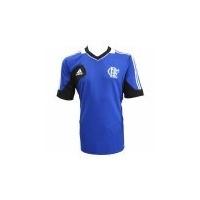 Camiseta Flamengo Treino Azul Adidas