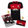 Kit Camisa Sócio Torcedor - Flamengo 120 Anos