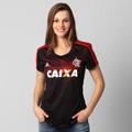 Camisa Flamengo Preta Feminina Adidas 2014