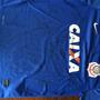 Camisa Azul 9 Autografada Corinthians Da Era Tite