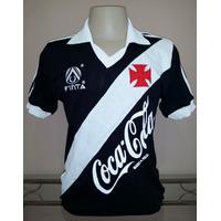 Camisa Retro Vasco 1989/1991 - Preta - Manto Sagrado Retrô
