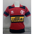 Camisa Retrô Flamengo 1984 Lubrax Amarelo - Manto Sagrado