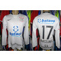 Corinthians 2009 Camisa Titular Mangas Longas M # 17.