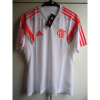 Camisa De Treino Do Flamengo 2014 - Adidas - Nova - Tam. M