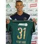 Camisa De Jogo Palmeiras Vitor Hugo Avanti 100 Mil Rara