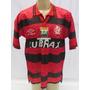 Camisa De Futebol Do Flamengo #7 - 1996 - Umbro