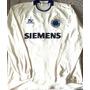 Camisa Cruzeiro Usada Jogo 2005 Mangas Longas Topper