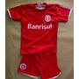 Conjunto Infantil Internacional Colorado Inter N 10 Vermelho