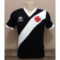 Camisa Retro Vasco 1984 - Preta- Malha - Manto Sagrado Retrô