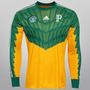 Camisa Goleiro Palmeiras Adidas 2015 Manga Longa