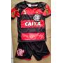 Conjunto Infantil Flamengo Shorts E Camiseta Boa Qualidade