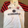 Camisa Vitoria Dellerba 1995 De Coleção - Fios Puxados