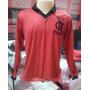 Camisa Polo Raça Rubro Negra Oficial - Rrn Flamengo