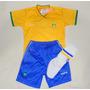 Uniforme Oficial Infantil Seleção Brasileira
