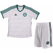 Kit Palmeiras 2 Infantil Camisa + Calção Palestra 1magnus