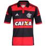 Camisa Flamengo Adidas Oficial 1 Guerreiro M62180 Original.