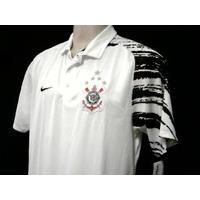 Rara Camisa Corinthians Polo Viagem Oficial Nike 2008 2009