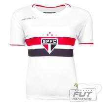 Camisa Penalty São Paulo I 2014 8 Kaka Feminina -futfanatics