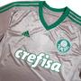 Camisa Original Do Palmeiras Prata Cromada Pronto Entrega