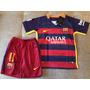 Kit Barcelona Infantil Neymar Oficial - Pronta Entrega