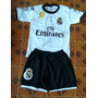 Conjunto Infantil Time Real Madri Do Cristiano Ronaldo Cr7