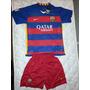 Camisa Barcelona 2015/2016 + Calção Oficial Pronta Entrega