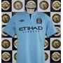 Camisa Umbro Home 12/13 Manchester City #16 Kun Aguero Impo.