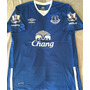 Camisa Everton 2016 Mirallas Premier League Uniforme 1