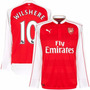 Arsenal Mangas Longas 2016 - Welbeck, Gibbs, Ramsey, Alexis