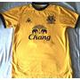 Camisa Everton 2011-2012 Le Coq Stone #18 Amarela