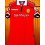 Camisa Do Manchester Utd 99-2000 Beckham Umbro Rara