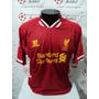 Camisa Liverpool Home 13-14 Sturridge 15 Premier Importada