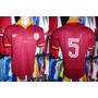 Roma 1980 Camisa Titular Tamanho G Número # 5 Falcão.