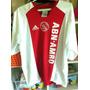 Camisa Ajax Holanda - Antiga - Adidas - Abn Amro