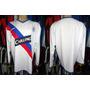 Glasgow Rangers 2004 Camisa Reserva Mangas Longas Tamanho Gg