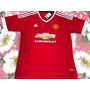 Conjunto/camisa Manchester United Vermelho + Short 15.16