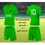 Uniforme Futebol Personalizado Esportivo Kit 15 Conjuntos