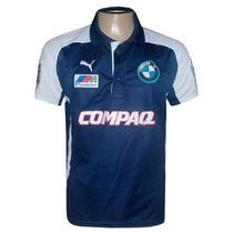 Camisa Polo Bmw Williams Team Azul