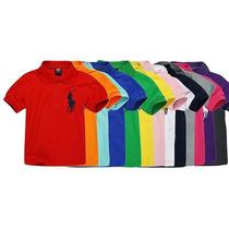 Camisa Polo Infantil Diversas Cores Ralph Lauren Original