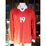 Camisa Seleção Uruguai #19 De Jogo Autentica 2000 Rara