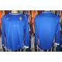 Camisa Brasil 2000 2001 Mangas Longas Nike