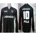 Camisa Botafogo Fila Oficial Manga Longa 2010 Uniforme 2