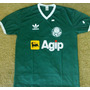 Camiseta Retrô Palmeiras Agip 1988 - Verde