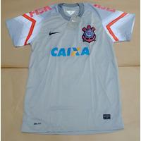 Camisa Corinthians Timão Goleiro Cássio N12 Cinza 2015 Pront