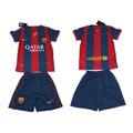Camisa E Calção Barcelona Infantil Crianças Frete Grátis