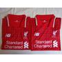 Nova Camisa Liverpool Vermelha Polo - A Pronta Entrega